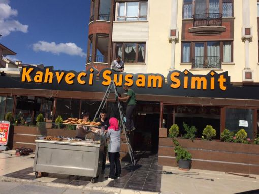 kahveci susam simit cafe